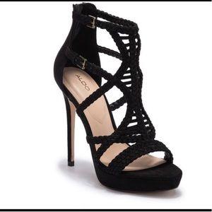 Aldo Porella Braided Heels 7